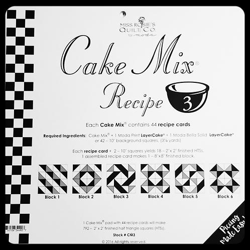 "10"" Cake Mix Recipe 3"