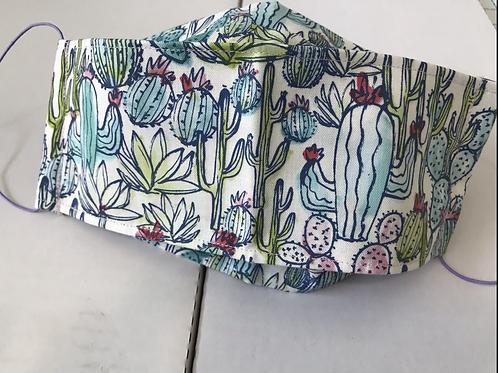 Cactus Bloom 3D Facemask