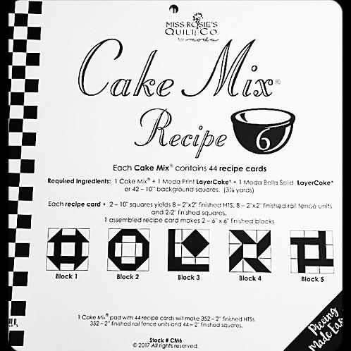 "10"" Cake Mix Recipe 6"