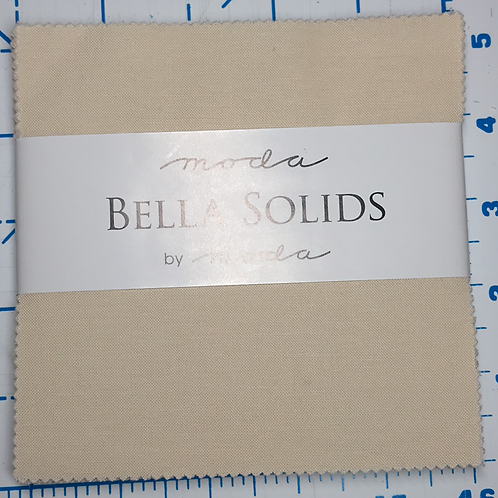 Cream Bella Solids Charm Pack