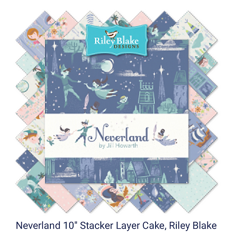 Neverland by Jill Howarth and Riley Blake Designs
