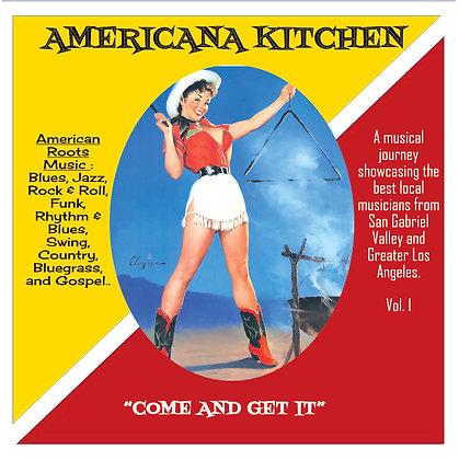 "AMERICANA KITCHEN DBL CD - ""PHYSICAL CD VERSION"""