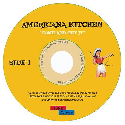 "AMERICANA KITCHEN - SIDE 1 - ""DOWNLOAD VERSION"""