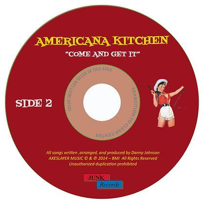 "AMERICANA KITCHEN - SIDE 2 - ""DOWNLOAD VERSION"""