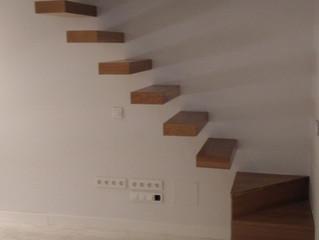Escaleras de madera originales