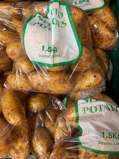 Cyprus potatoes 1.5kg