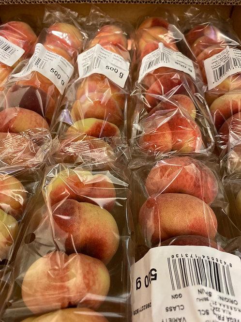 Flat peaches pack