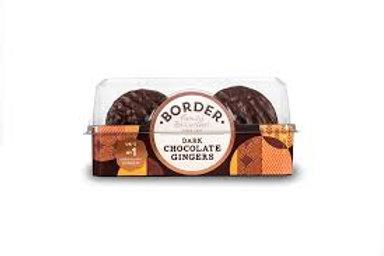 Border Dark Chocolate and orange Ginger Biscuits