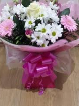Mixed Flower Hand Tied Bouquet £25