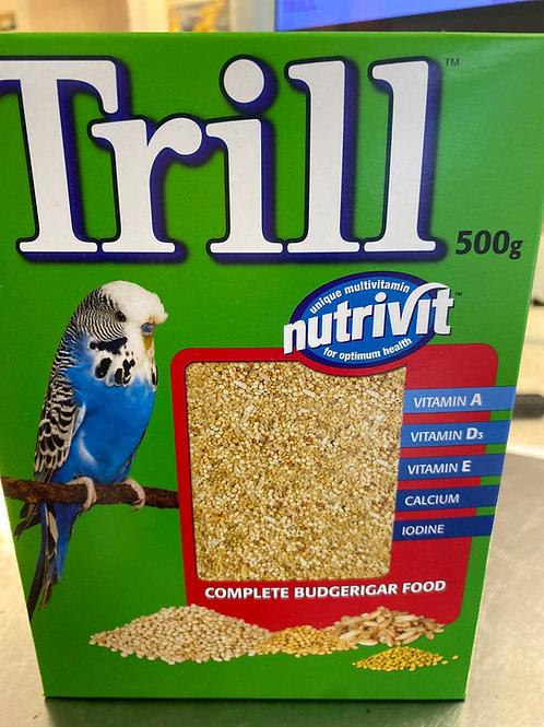 Trill Budgie Seed  Box