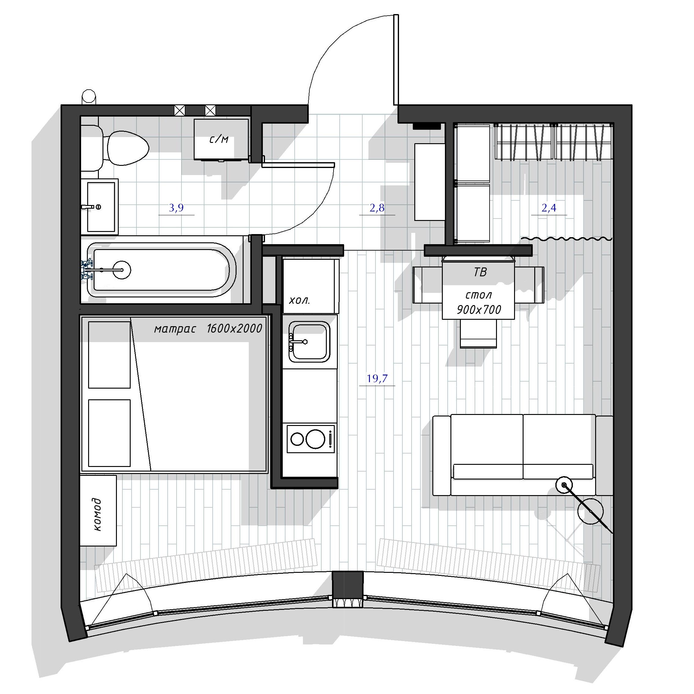 Апартаменты Мск мебель