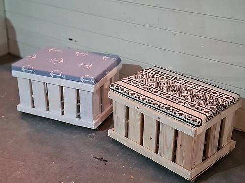 קיט בניית תיבת איחסון עם ריפוד 40*60