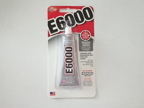"""דבק 30 מ""""ל E6000"""