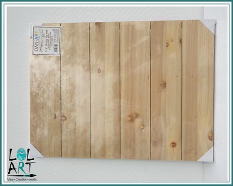 לוח עץ 45*60 עם חריצים