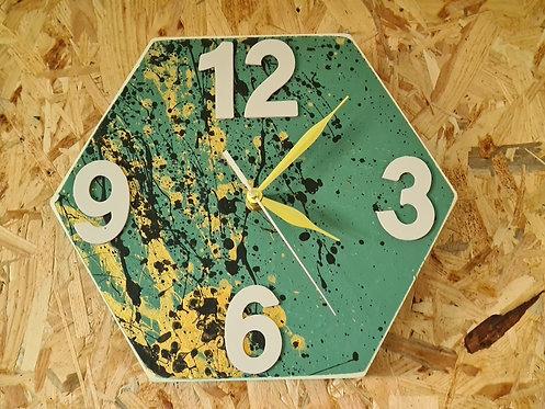 ערכת יצירה - שעון משושה