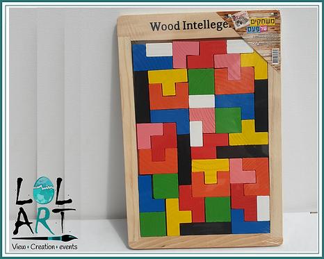 משחק חשיבה- עץ צבעוני