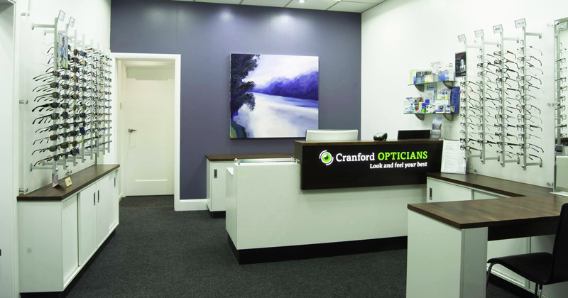 Interior image for Cranford Opticians, Hounslow, London