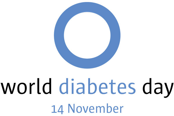 World Diabetes Day logo, 14th November 2018
