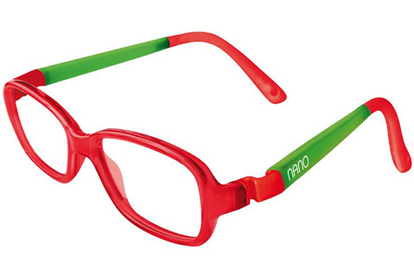 Red Nano vista frame available at Cranford Optician, Hounslow, London