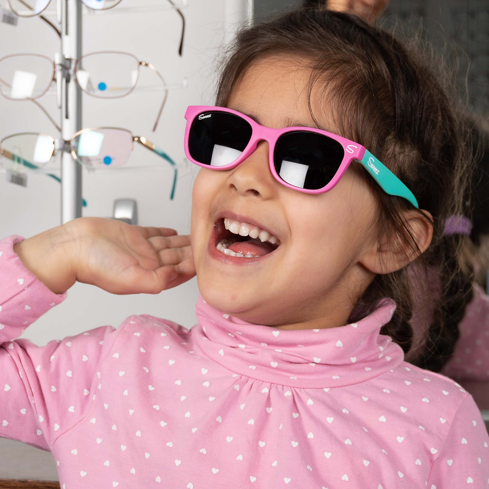 Children's sunglasses at Cranford Opticians Hounslow near Heathrow Airport