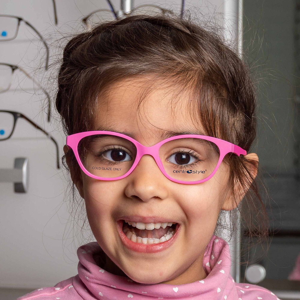 Children's glasses at Cranford Opticians Hounslow near Heathrow Airport
