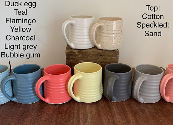 Mugs Pre-Order specked clay spring  2021