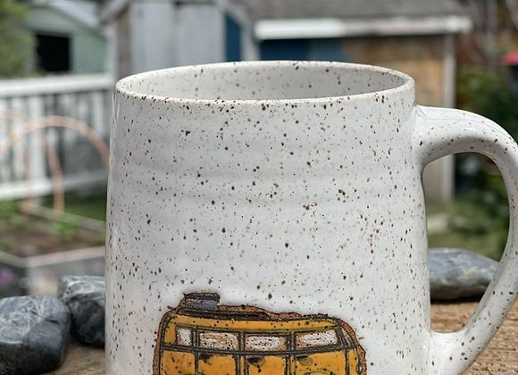 Van mug orange