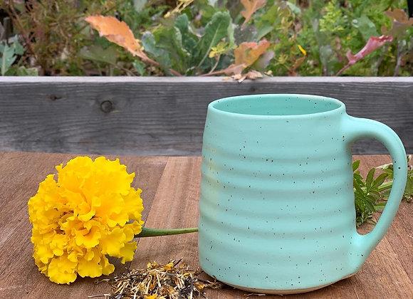 Summer pre-order Tiffany Mug in speckled stoneware