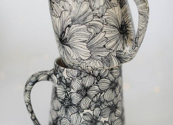 Floral mugs (pre-order) 2 weeks