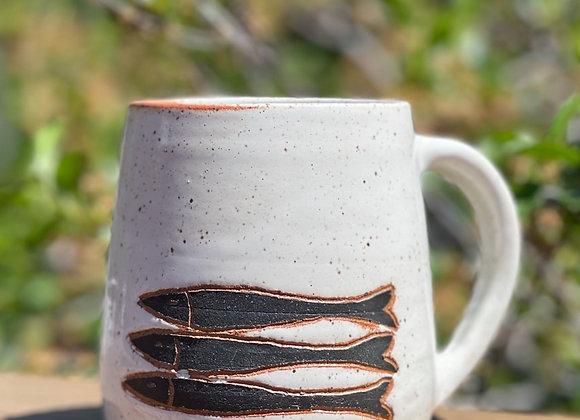 3 fish 18 ounce mug