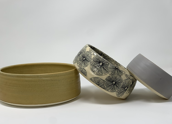 Nesting bowl set of 3
