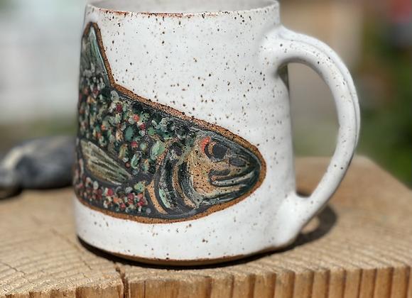 One trout mug III