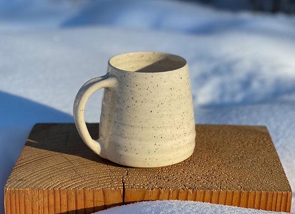 Summer pre-order Sand mug in speckled stoneware