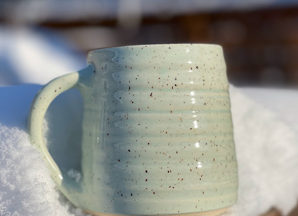Summer pre-Order Sea glass mug in speckled stoneware