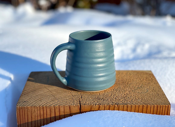 Summer pre-order Dark Teal Mug speckled stoneware