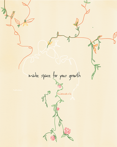 Make space for your growth