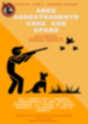 area addestramento cani con sparo