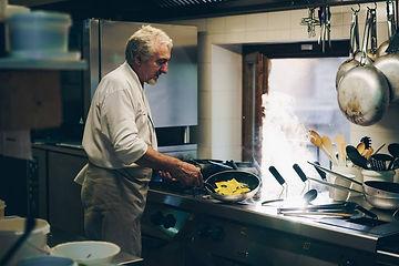 Our chef Orlando