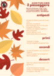 menu fisso 8 dicembre