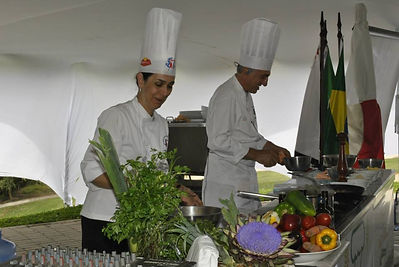 our chefs Ana and Orlando