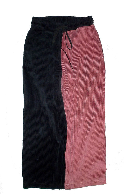 Two-Colored Baggy Cords