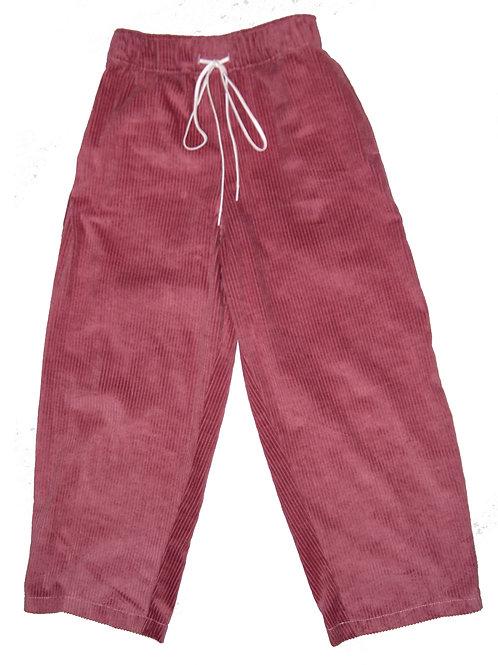 Summer Baggy Corduroy Pants