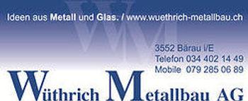 Sponsor Wüthrich Metallbau AG