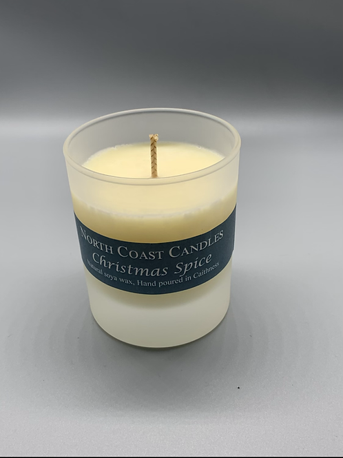 Christmas spice soya wax candle