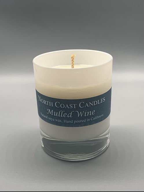 Mulled wine soya wax candle