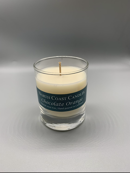 Chocolate orange soya wax candle