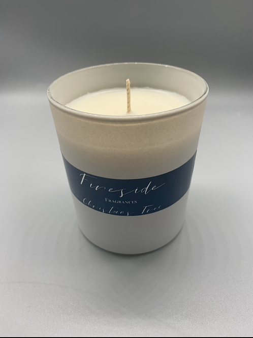 Christmas tree soya wax candle