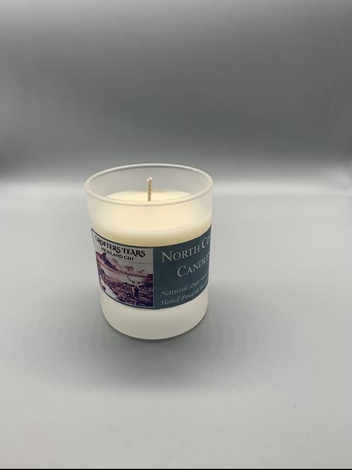 Ice n fire gin soya wax candle