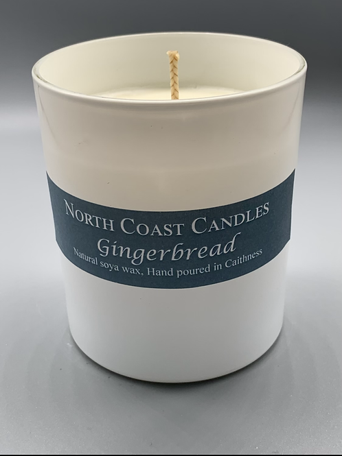 Gingerbread soya wax candle