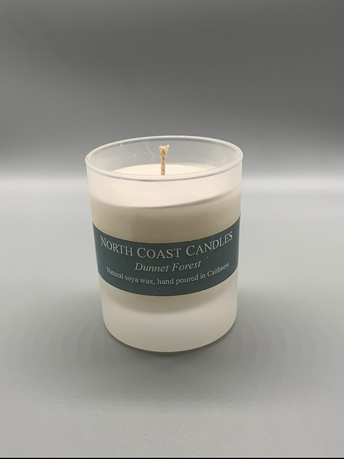 Dunnet forest soya wax candle